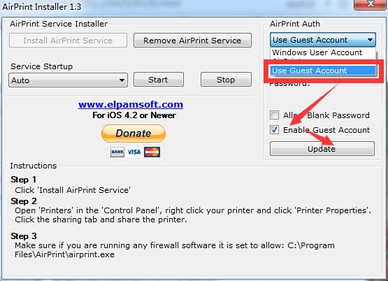 让普通打印机支持AirPrint无线打印功能的方法技巧(图)