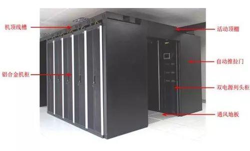 弱电机房冷热通道设计与施工工程
